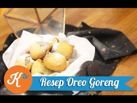 Resep Oreo Goreng (Deep Fried Oreo Recipe) | HIJAB CHEF