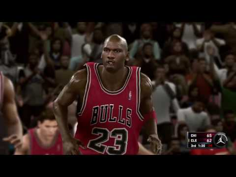 MICHAEL JORDAN 69 POINT CHALLENGE NBA 2K11 JORDAN CHALLENGE PART 3