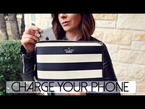b498eb510fef Kate Spade Charging Purse from Everpurse  Charge Your Phone The Stylish Way
