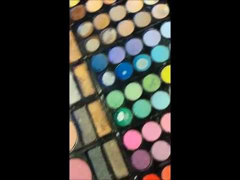 How to make a fake bruise with eyeshadows