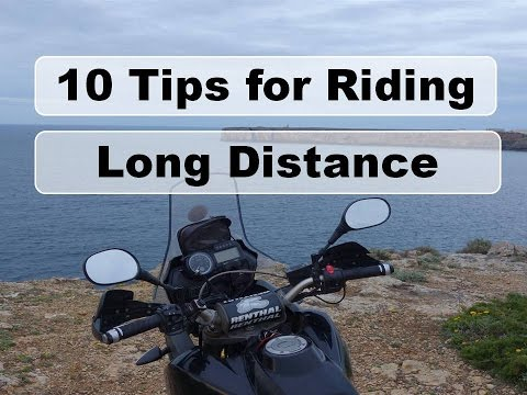 Motorcycle Riding Tips - Long distance - poor audio