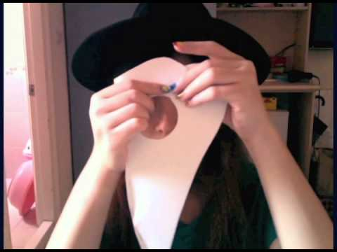 勾嘴大夫紙面具教學 Plague doctor paper mask tutorial