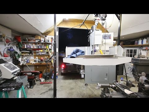 Unloading Tormach PCNC 1100 Mill