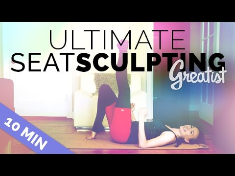 Ultimate Butt Toning Workout for Greatist - 10 Min - Firming, Toning, Leads to a Bigger Butt