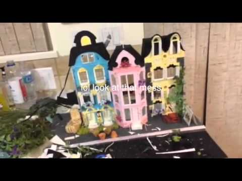 Making of Claymation filming set