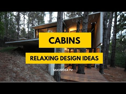 65+ Epic Cabins Design Ideas for Relaxing House!