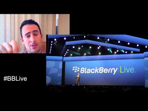 BlackBerry Q5 and BBM on Apple and Android - BBLive Day 1