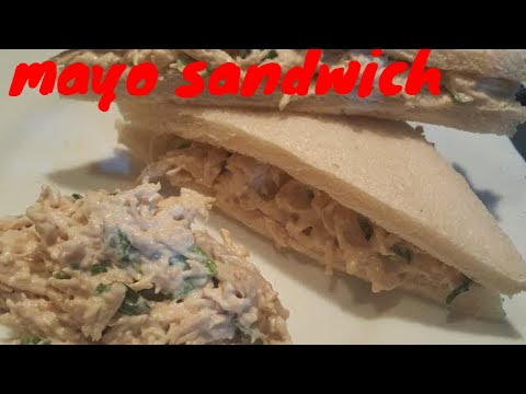 Mayonnaise Sandwich Recipe | Homemade chicken Spread | best for kids
