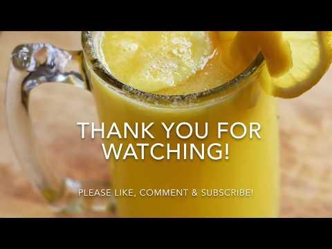 Delicious Mango lemonade