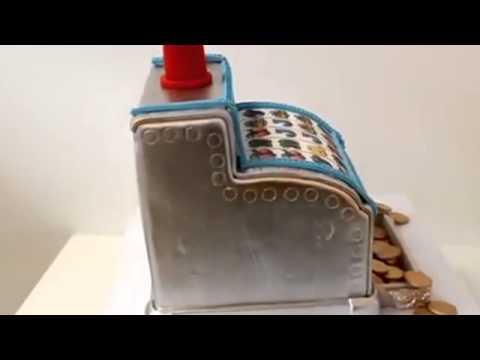 How to make cake Slot Machine Theme Cake