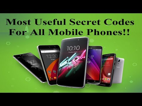 Most Useful Secret Codes For All Mobile Phones!!