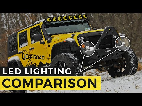 How to Choose the Right Off Road Lights for your Rig: LED Lighting Comparison