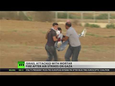 Gaza groups fire back at Israeli air strikes