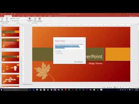 Sharing Microsoft PowerPoint Presentations