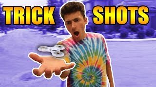 Download WORLD'S BEST FIDGET SPINNER TRICKS AND TRICK SHOTS Video
