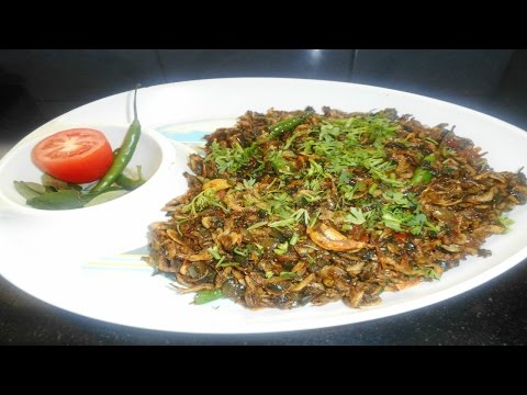 Suka Jawla (Sukat) Dry mini Prawns Recipe सुका  जवला ( सुकटीच आंबट)
