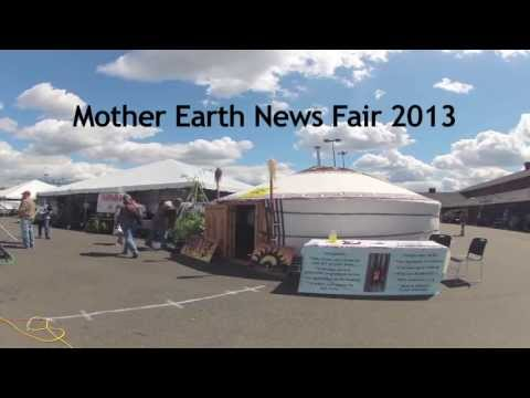 SunTime Yurts at Mother Earth News Fair