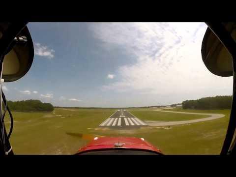 Aeronca Champ 7AC Wheel landing Sport Pilot Training