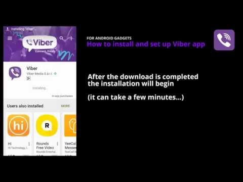 Activate VIBER app on Android without a cellphone number