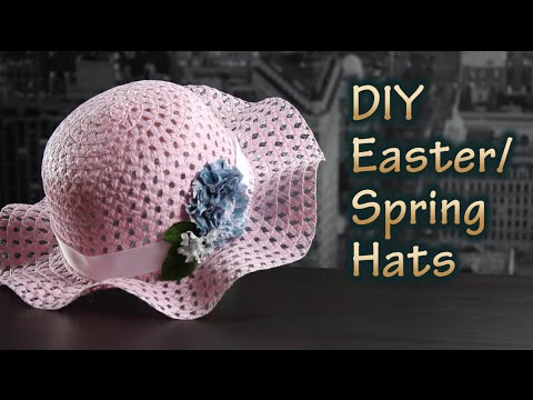 How To Make A Hat For Easter Or Spring