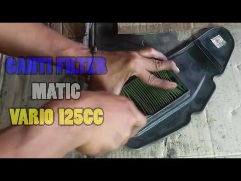 Motor Matic Lebih enteng dan irit - Cara ganti Filter/saringan Motor Matic