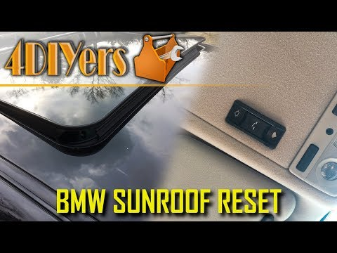 How to Perform a Reset Procedure on a BMW Sunroof
