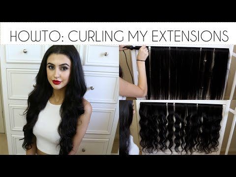 HOWTO: GLAMOROUS CURLS | ZALA HAIR EXTENSIONS