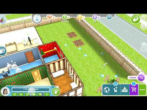 The Sims Freeplay - A Quest For Toddlers / Expand Or Create A Room