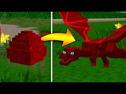 How To Hatch a Red Dragon Egg in Minecraft