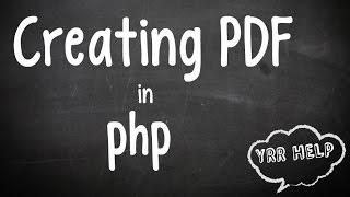 Scriptcase 8 - ReportPDF with TCPDF Library - PakVim net HD Vdieos