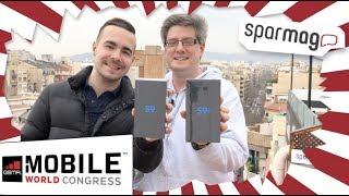 Samsung Galaxy S9 und S9+ Unboxing aus Barcelona