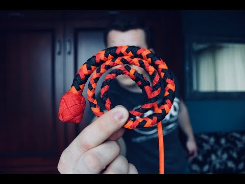 How to Make a Micro Pocket Snakewhip You Can Take Anywhere