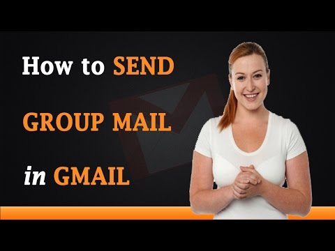 How to Send Group Email in Gmail
