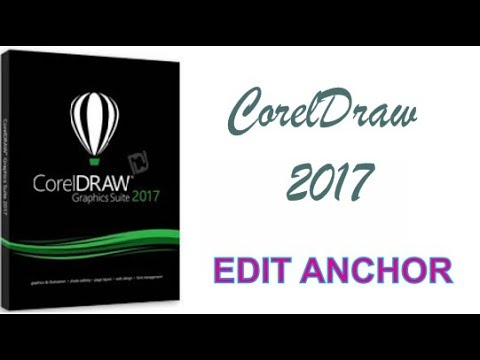 COREL DRAW 2017 USING EDIT ANCHOR TOOL HINDI URDU PART 30
