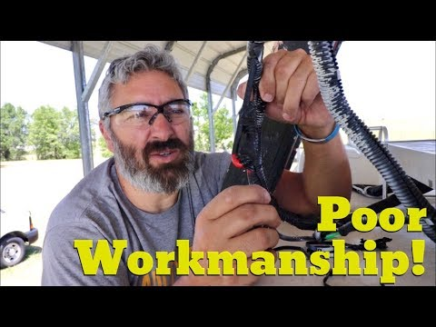 Van Life; Poor Workmanship! The Lance Camper Solar Project! Part 2
