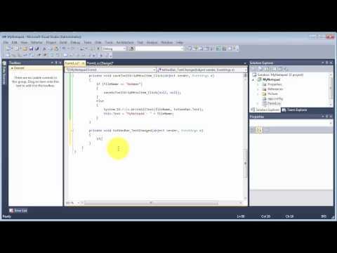 C# & Windows Forms - Viết chương trình notepad (P3): Code cho menu File, Format