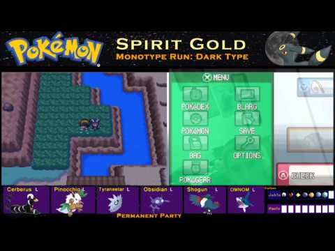 Pokemon Spirit Gold Monotype Run Pt 18: Blackthorn City, Dragon Gym!