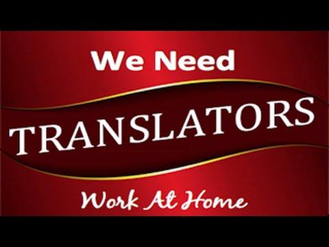Translating Jobs - Work From Home Translator Jobs
