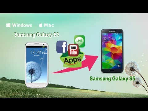 How to Copy Apps from Samsung Galaxy S3 to Samsung Galaxy S5 by MobileTrans