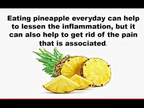 Pineapple and Inflammation. Amazing Benefits of Pineapple