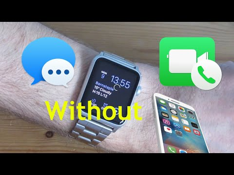 Apple watch series 0,1,2 messaging and calling without iphone