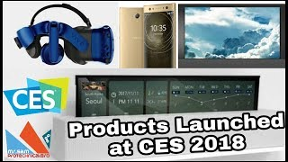 CES 2018 - Products Launched - lg Rollable, Samsung Wall [Hindi]