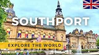 🇬🇧 Walking in SOUTHPORT | England UK | 4K HDR 60fps