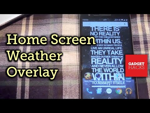Add Real-Time Weather Effects to Your Android's Wallpaper [How-To]