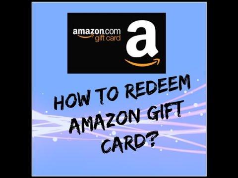 How to redeem Amazon India Gift card Hindi