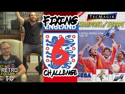 ''THE WORST!'' | Champions of Europe (Euro '92) | Fixing England Challenge | Ep. 6