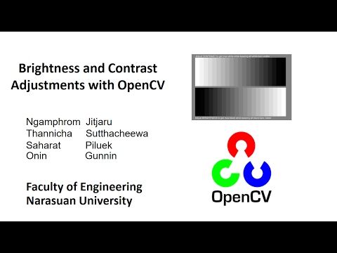 Brightness and Contrast Adjustments with OpenCV