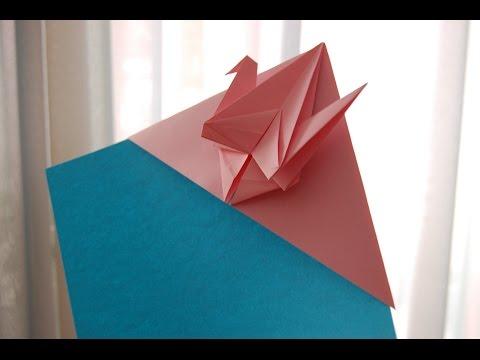 paper peace Crane  Bookmark origami