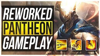REWORKED PANTHEON IS 100% BUSTED!! - Pantheon Rework Gameplay | League of Legends