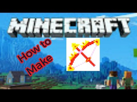 [MINECRAFT] HOW TO MAKE FIRE BOW